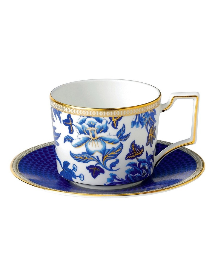 Hibiscus Teacup and Saucer image 1