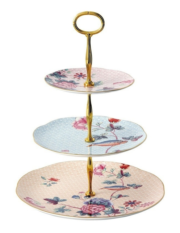 Cuckoo 3 Tiered Cake Stand image 1