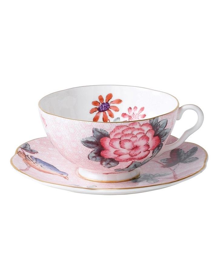 Cuckoo Teacup & Saucer Pink image 1
