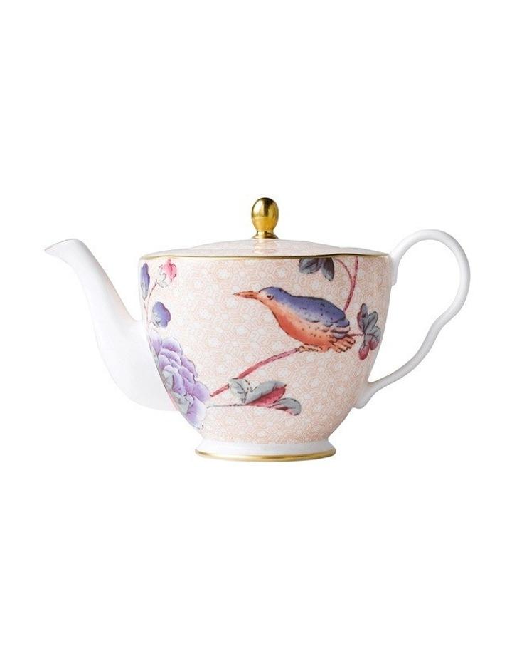 Cuckoo Small Teapot Peach 0.37Ltr image 1