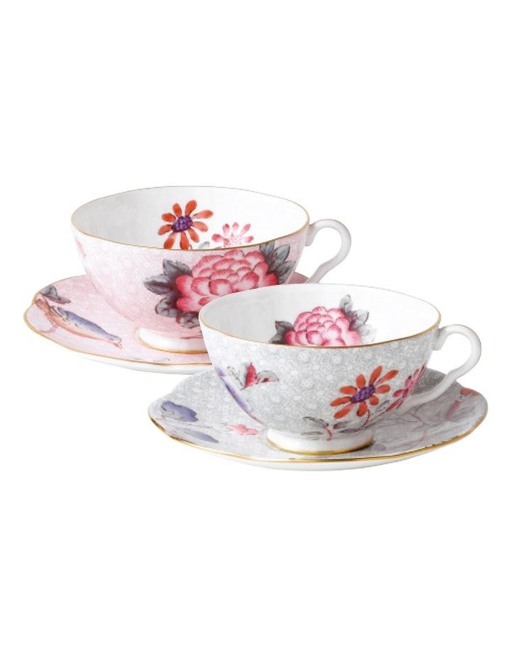 Cuckoo Teacup & Saucer Set of 2 image 1