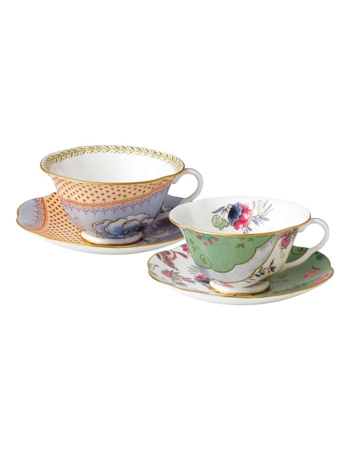 Butterfly Bloom Teacup & Saucer Set of 2 image 1