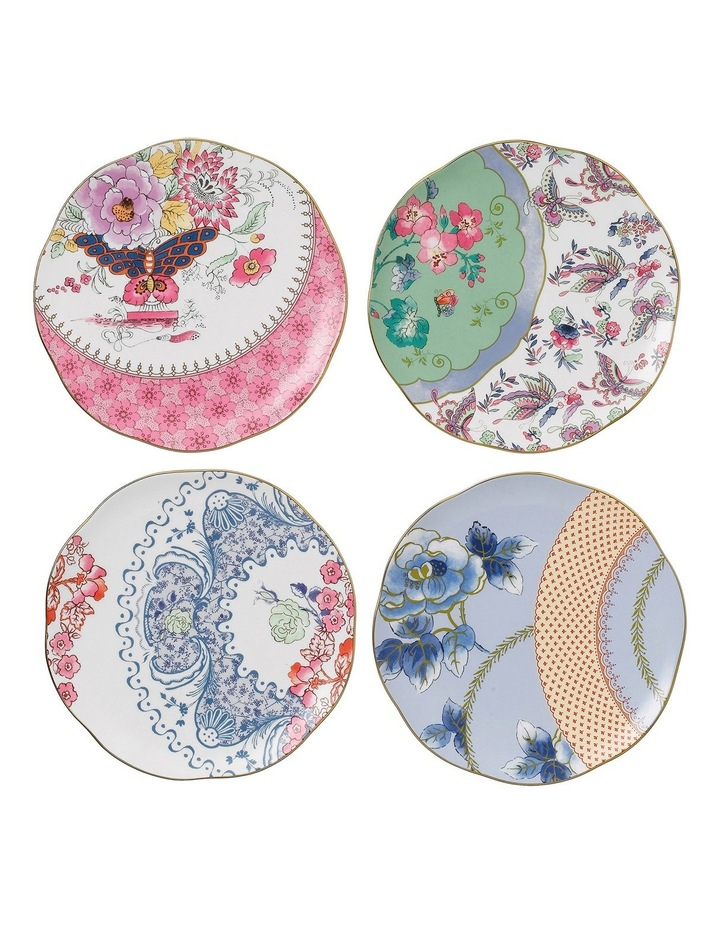 Butterfly Bloom Plates 20Cm Set Of 4 image 1