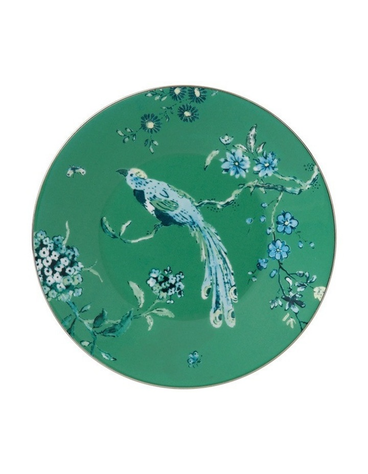Jasper Conran Green Plate 18cm image 1