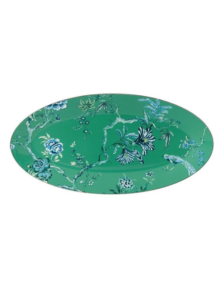 Jasper Conran Green Oval Dish image 1