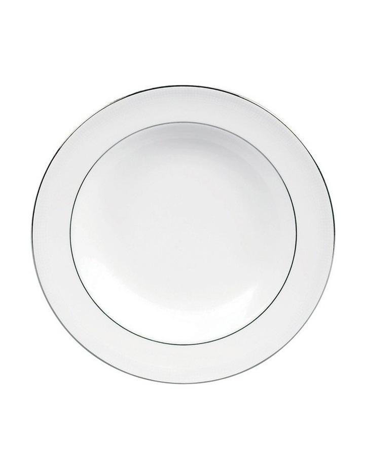 Vera Wang Blanc Sur Blanc Rim Soup 23cm image 1