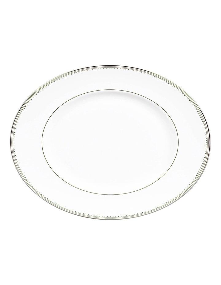 Vera Wang Grosgrain Oval Dish 39cm image 1