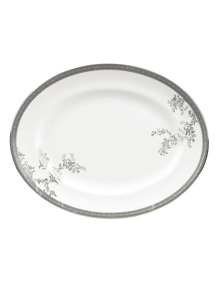 Vera Wang Lace Oval Dish 39cm image 1