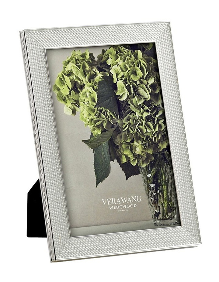 "Vera Wang With Love Silver Frame 4""X6"" image 1"