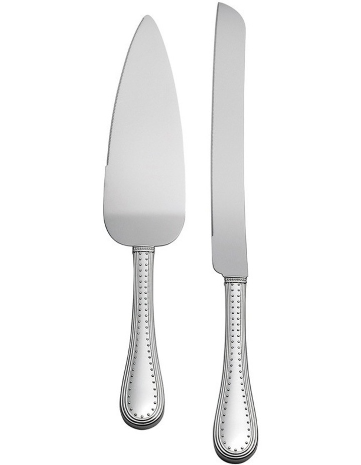 Vera Wang Grosgrain Cake Knife & Server image 1