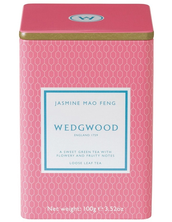 Jasmine Mao Feng Tea Caddy 100g image 1