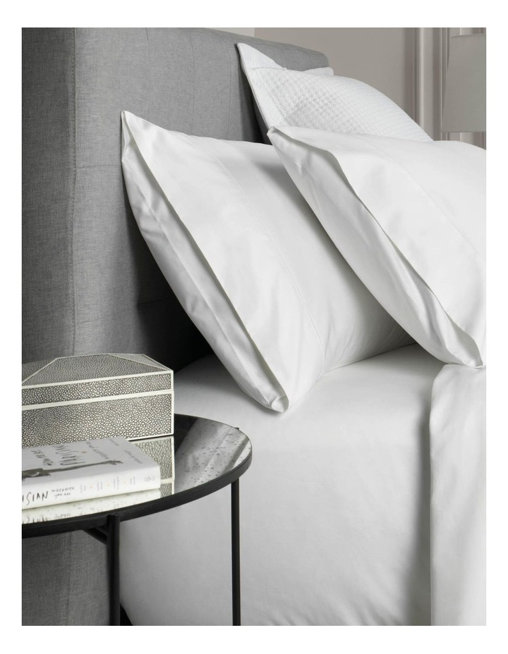 1000TC Hotel Weight Luxury Sheet Set in Snow image 2
