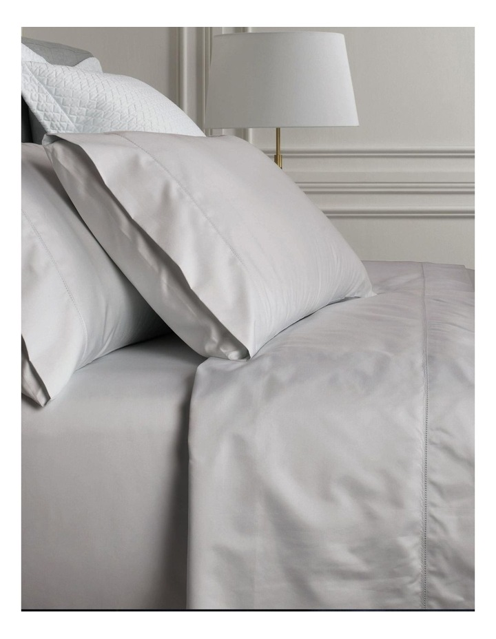 1000TC Hotel Weight Luxury Sheet Set in Dove image 1