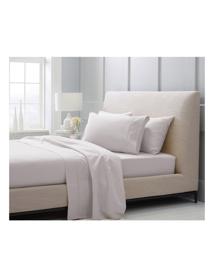 1000TC Hotel Weight Luxury Sheet Set in Dove image 2