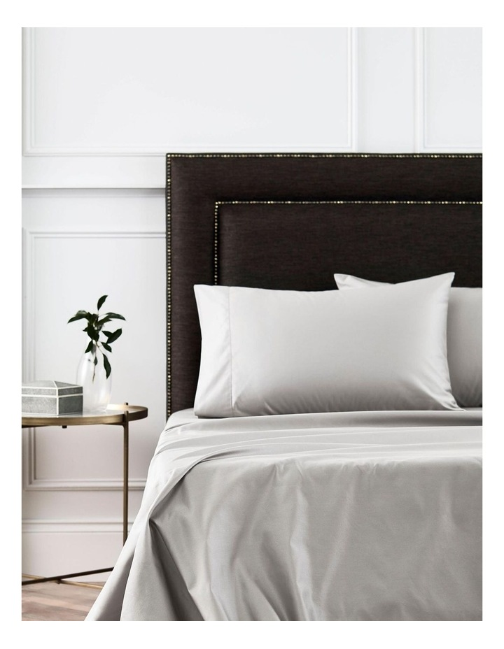 1000TC Hotel Weight Luxury Sheet Set in Dove image 3