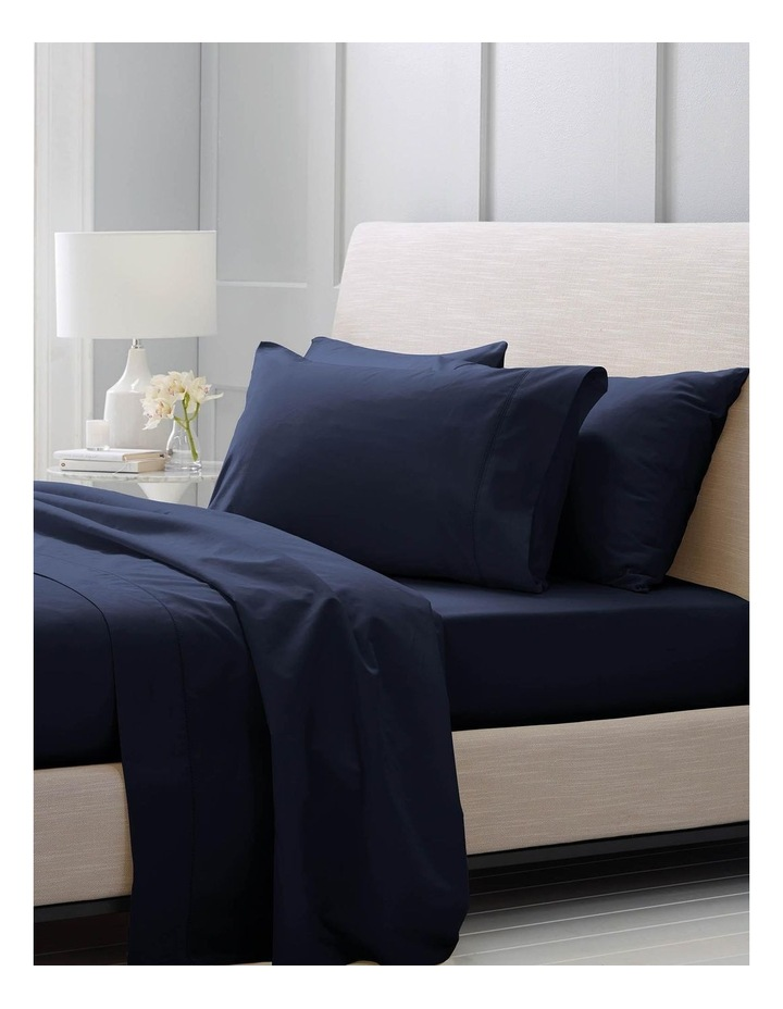 Hotel-Weight Luxury 1000TC Sheet Set in Midnight image 2