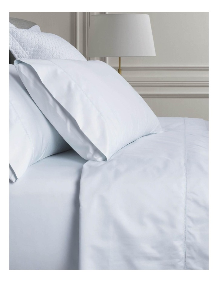 Hotel-Weight Luxury 1000TC Sheet Set in Soft Blue image 1