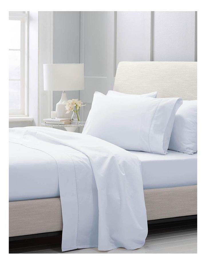 Hotel-Weight Luxury 1000TC Sheet Set in Soft Blue image 2