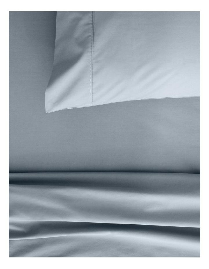 Organic Cotton Percale 300TC Sheet Set in River image 2