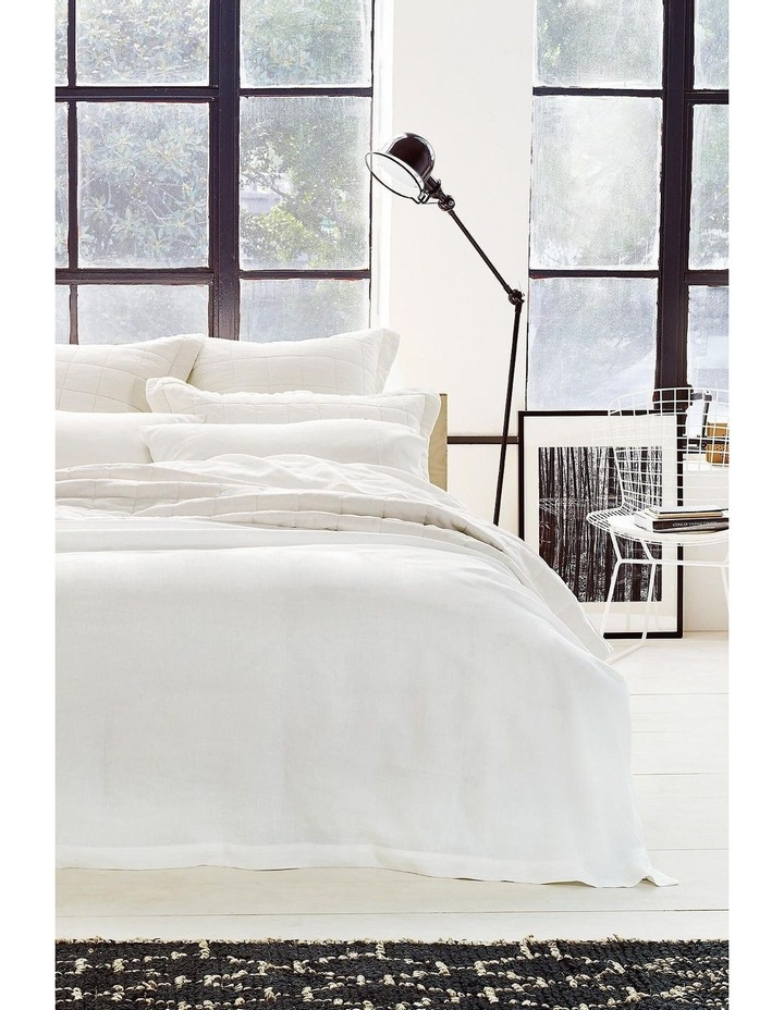 Abbotson Quilt Cover in White image 1