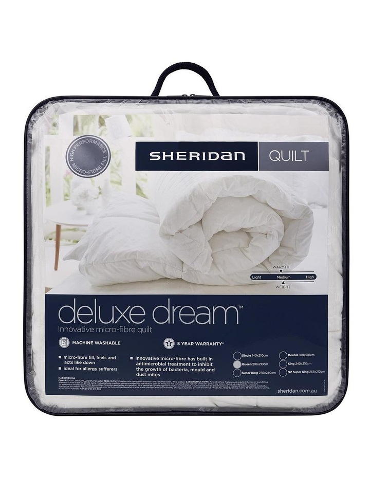 Deluxe Dream Polyester Quilt image 1