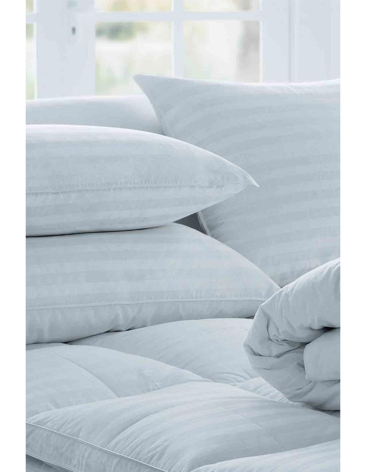 Deluxe 50/50 White Goose Feather & Down Pillow image 2