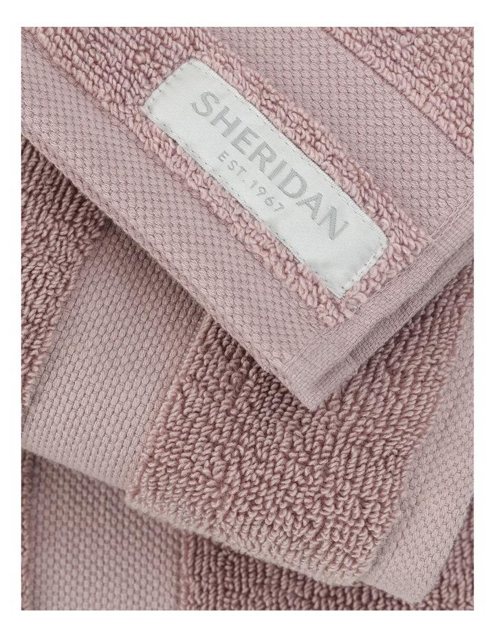 Organic Cotton Eden Towel Range in Dusk image 2
