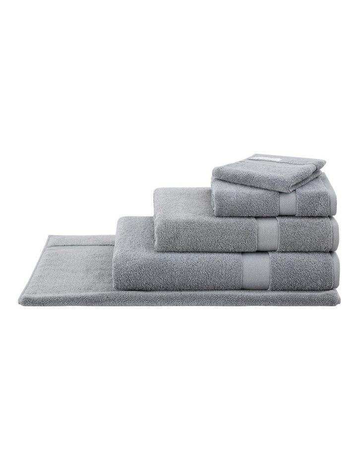 Organic Cotton Eden Towel Range in Blue Shadow image 2