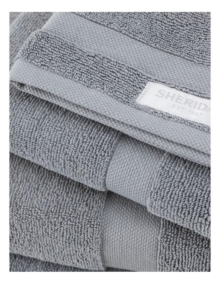 Organic Cotton Eden Towel Range in Blue Shadow image 3