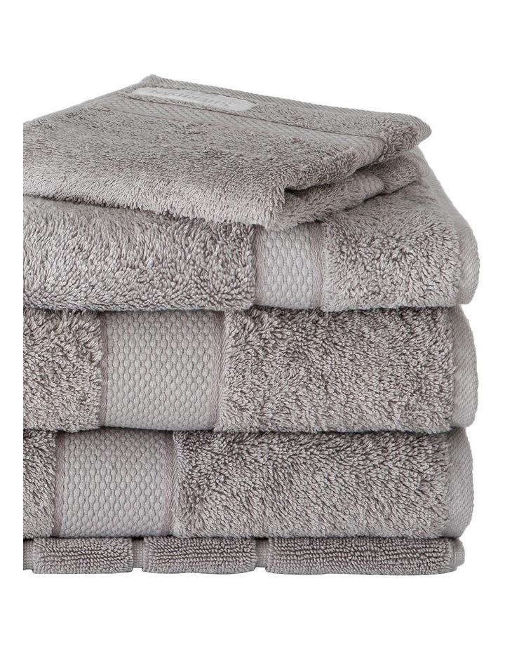 Luxury Egyptian Towel Range in Cloud Grey image 2