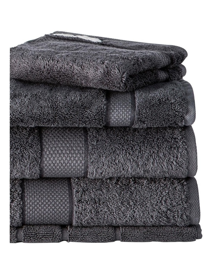 Luxury Egyptian Towel Range in Graphite image 2