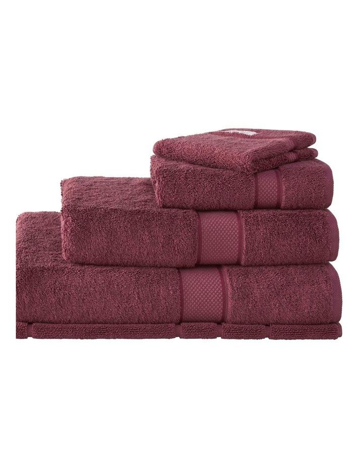 Luxury Egyptian Cotton Towel Range in Merlot image 1