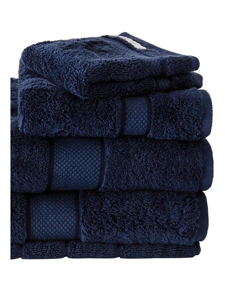 Luxury Egyptian Towel Range in Navy image 2
