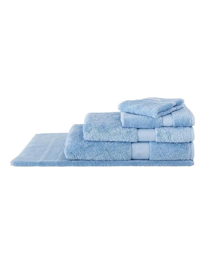 Luxury Egyptian Towel Range in Ocean image 1