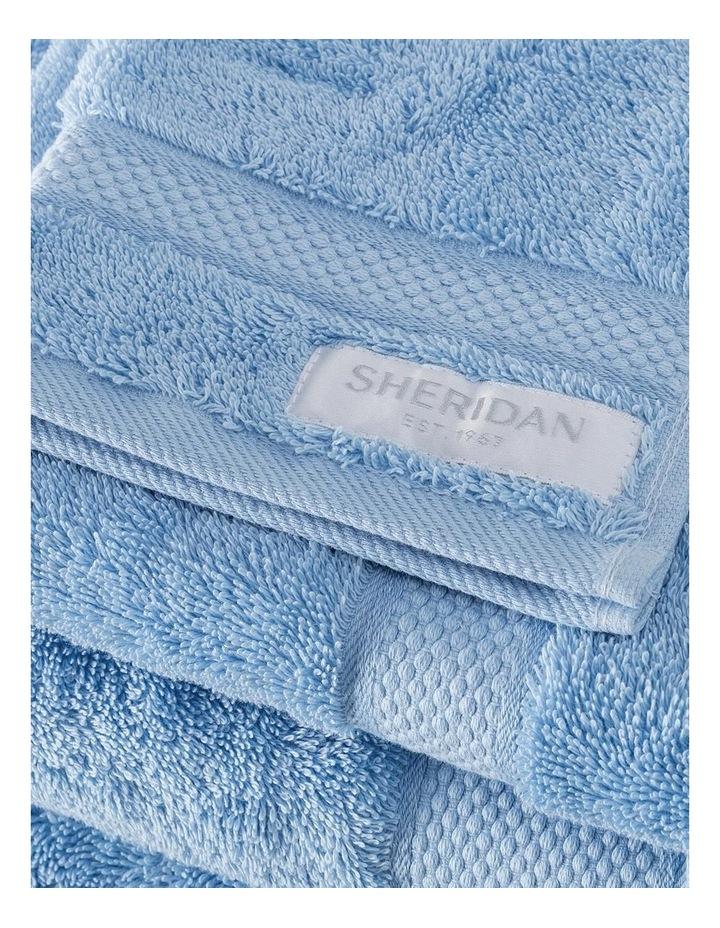 Luxury Egyptian Towel Range in Ocean image 3