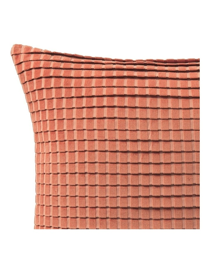 Ervine Cushion in Red Earth image 2