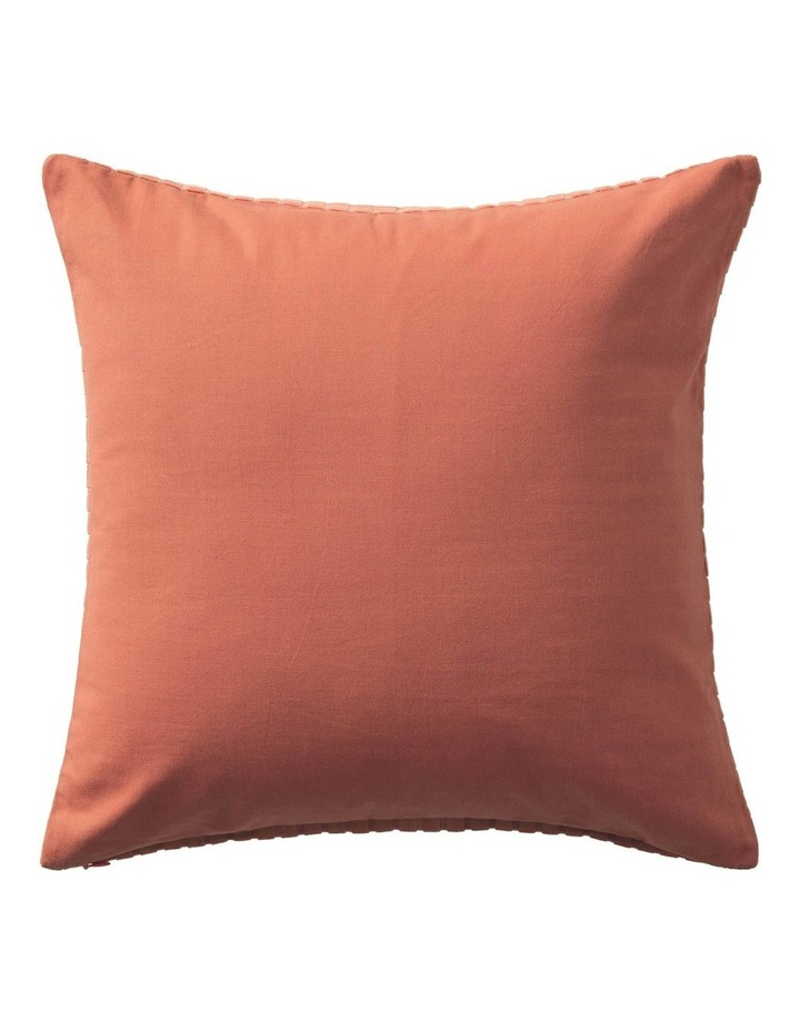 Ervine Cushion in Red Earth image 3