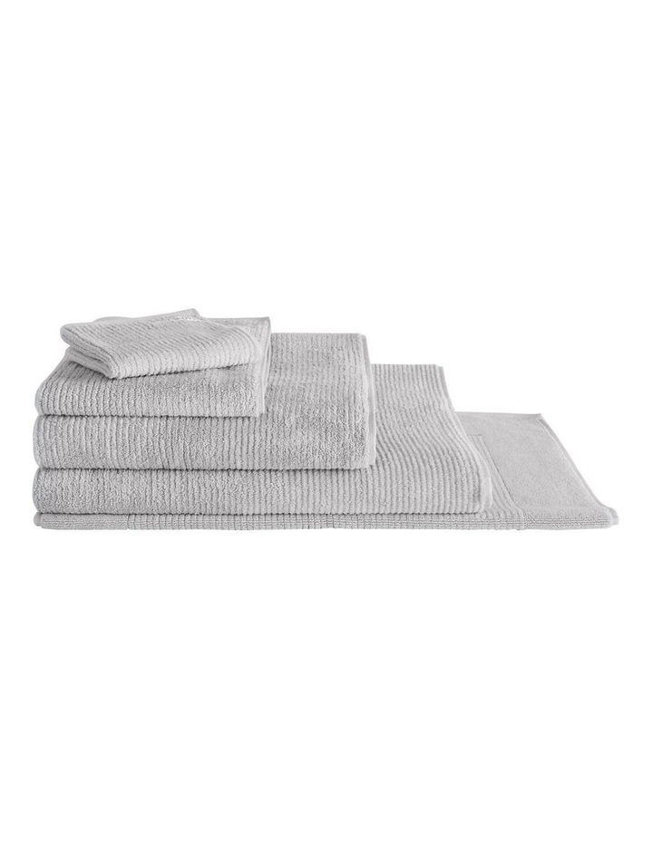 Living Textures Towel Range in Silver image 1