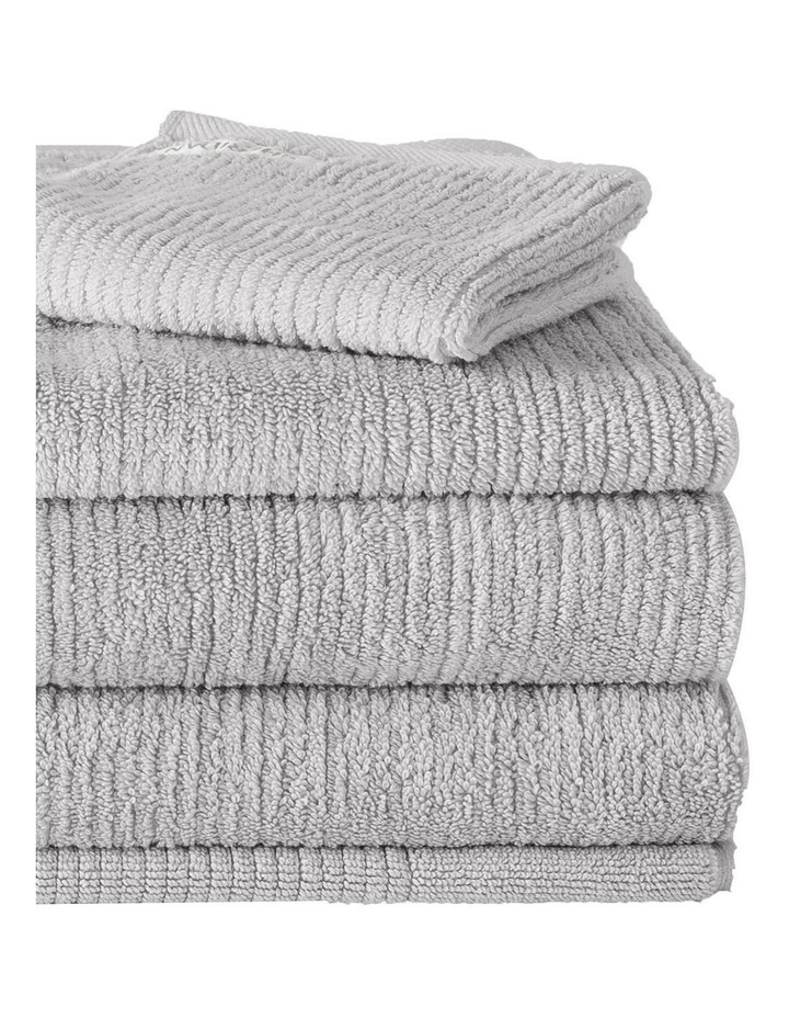 Living Textures Towel Range in Silver image 2