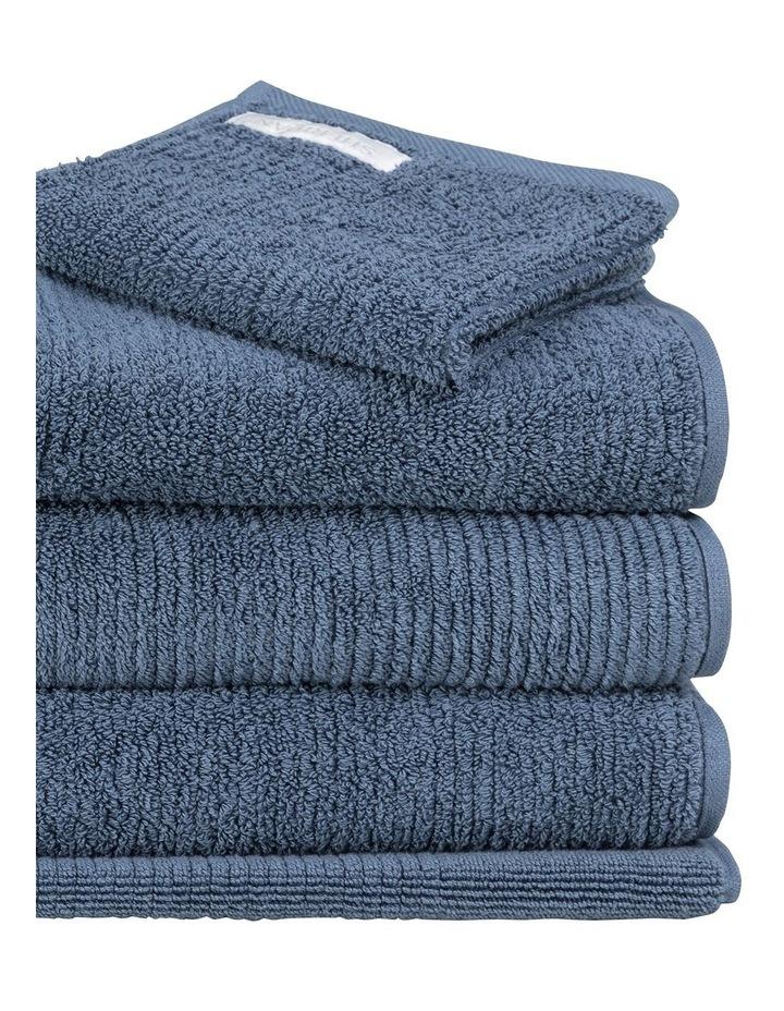 Living Textures Towel Range in Sapphire image 2