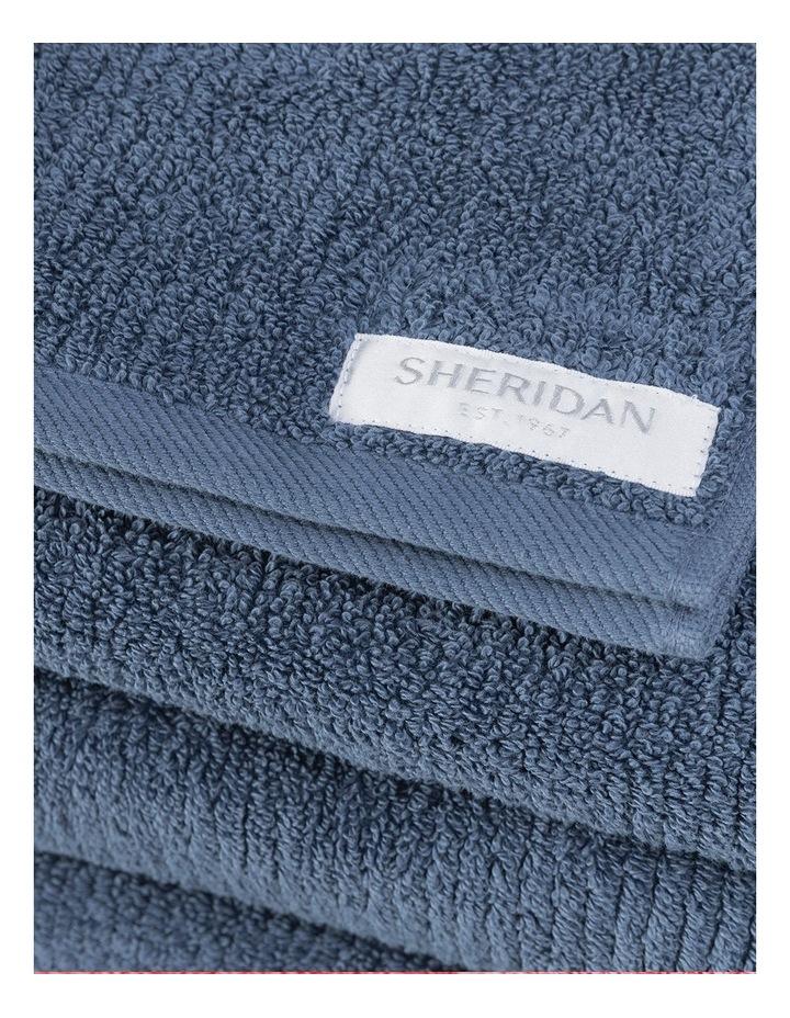Living Textures Towel Range in Sapphire image 3