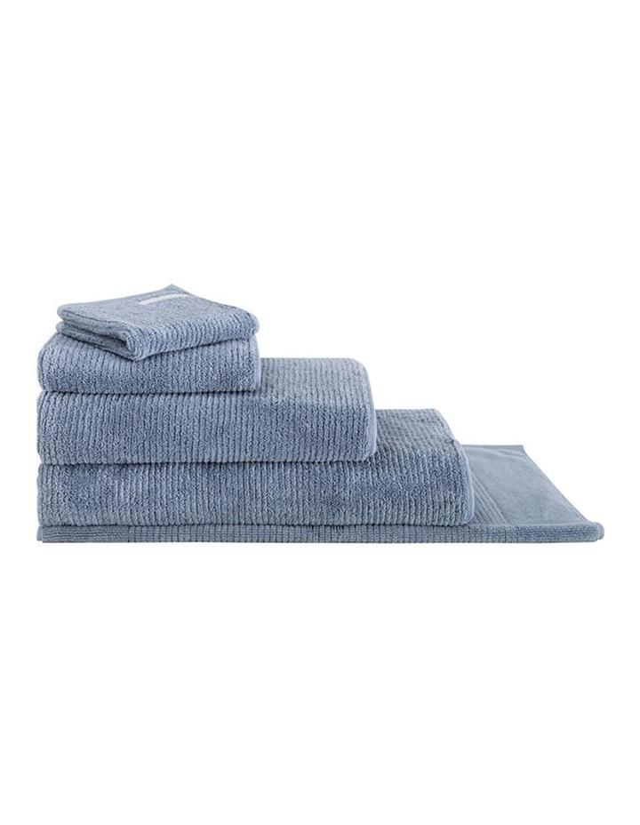 Living Textures Towel Range in Orient Blue image 1