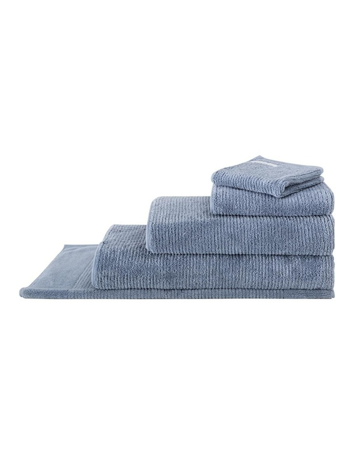 Living Textures Towel Range in Orient Blue image 1