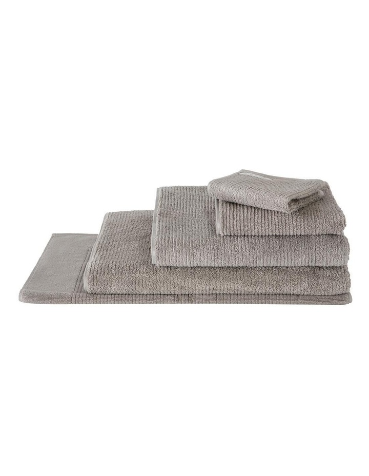 Living Textures Towel Range in Ash image 1