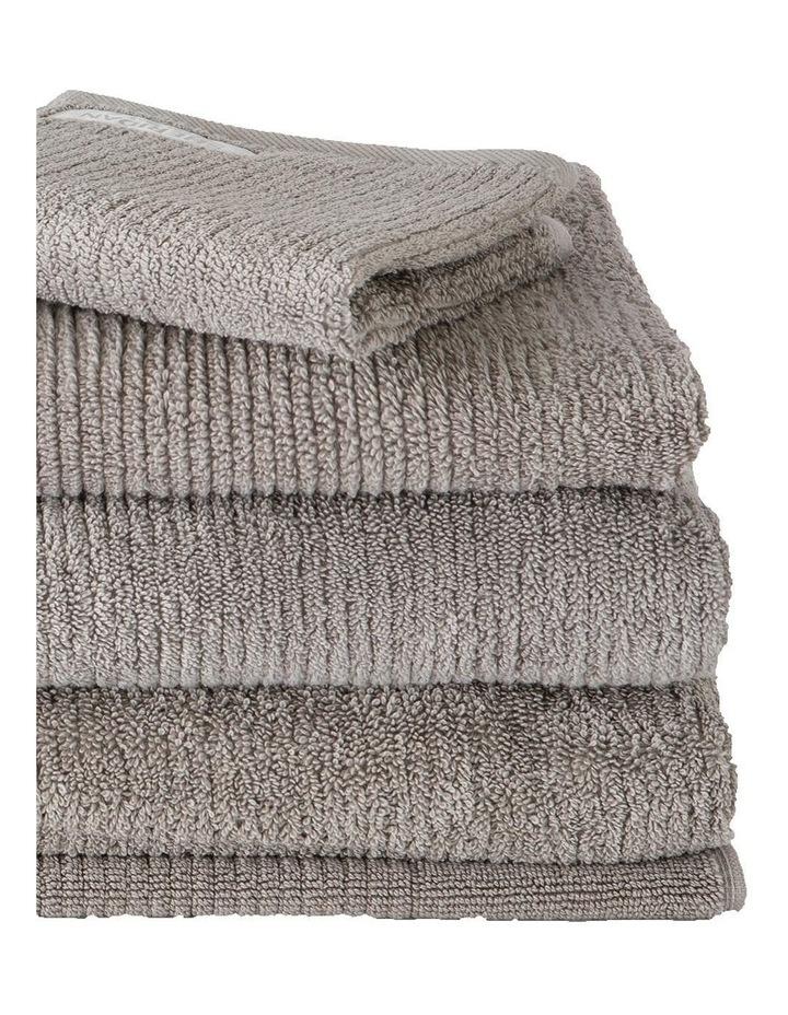 Living Textures Towel Range in Ash image 2