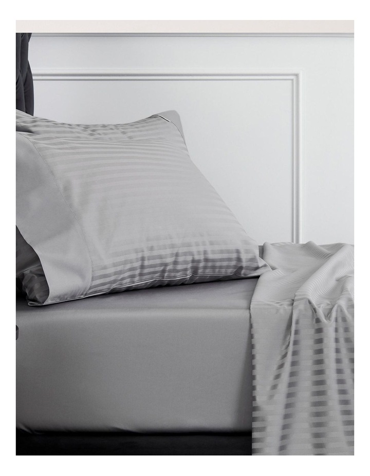 Millennia 1200TC Fitted Sheet in Storm image 1