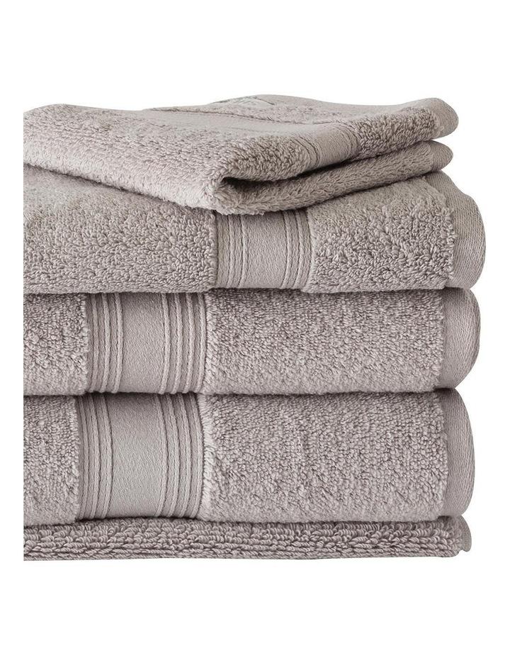Quick Dry Luxury Towel Range in Silver image 2