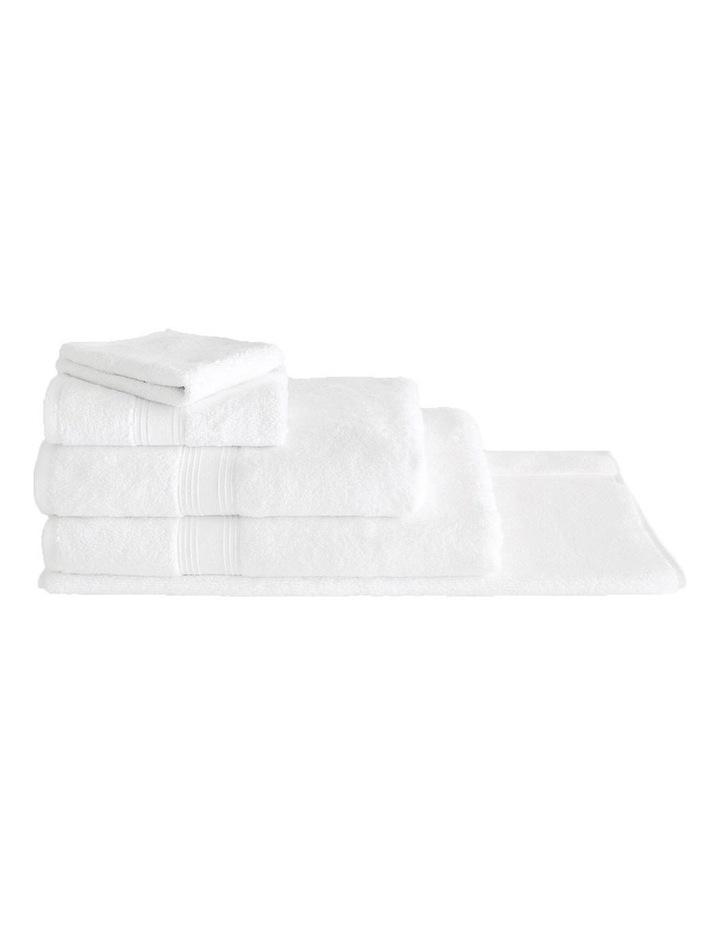 Quick Dry Luxury Towel Range in White image 1