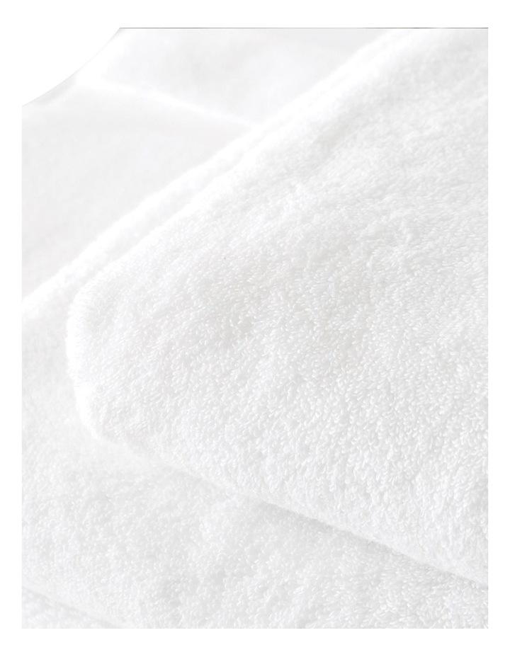 Quick Dry Luxury Towel Range in White image 3
