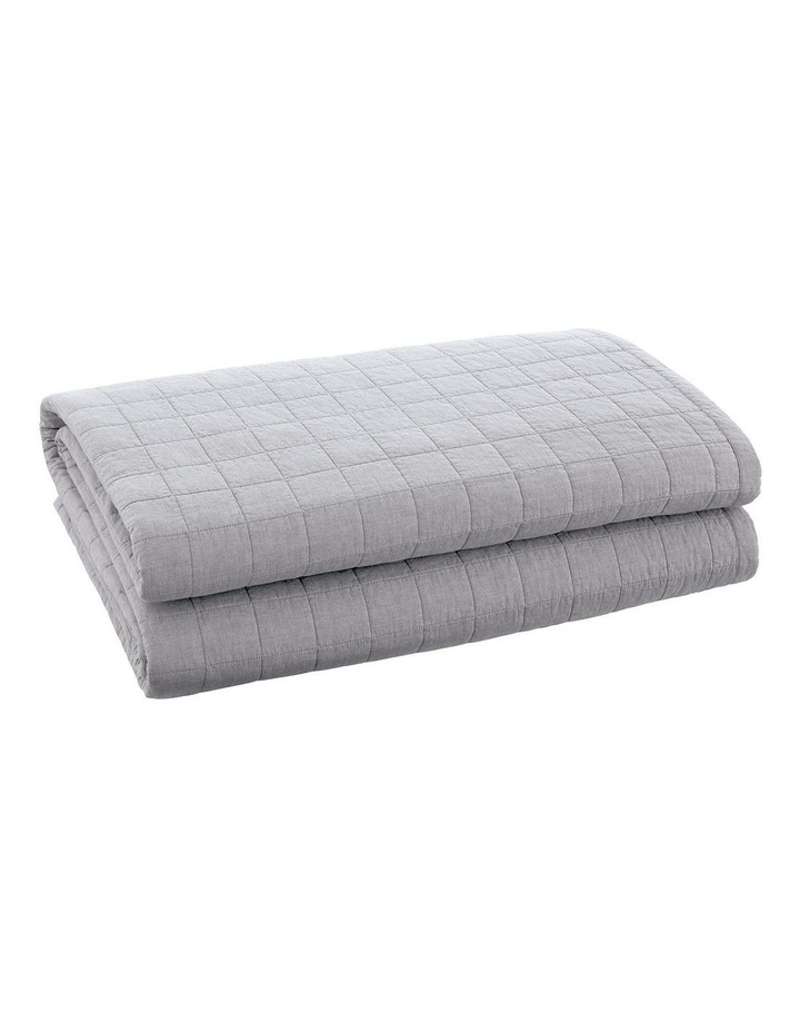 Reilly Bedcover in Fog image 3